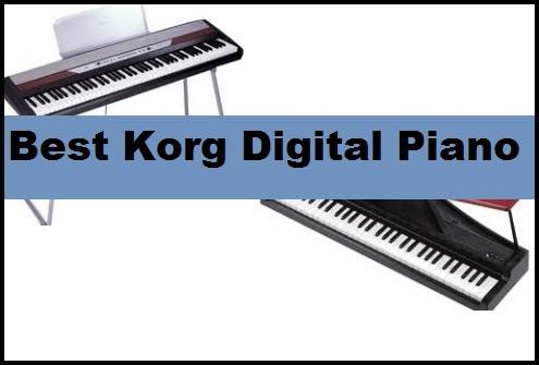 Best Korg Digital Piano