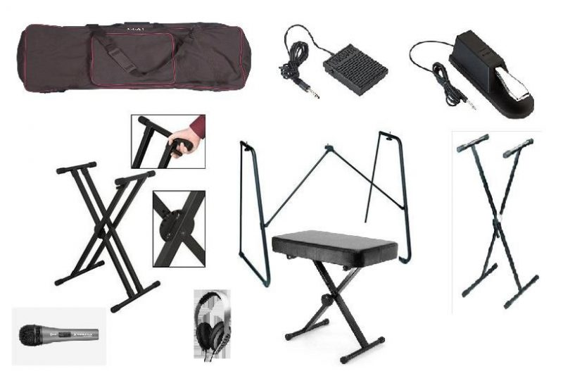 best digital piano accessories 5 must have accessories. Black Bedroom Furniture Sets. Home Design Ideas