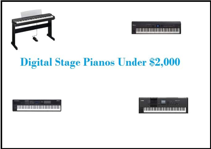 Digital Stage Pianos Under $2,000