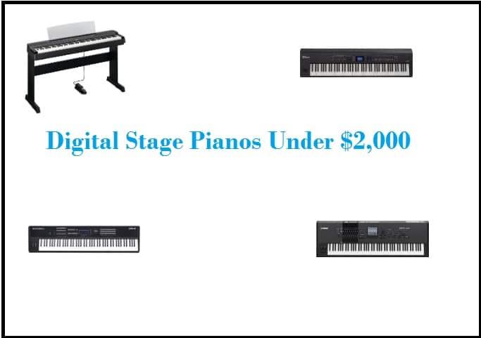 Digital Stage Pianos Under $2,000