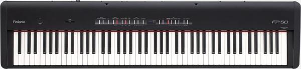 Roland FP-50 Digital Piano Black