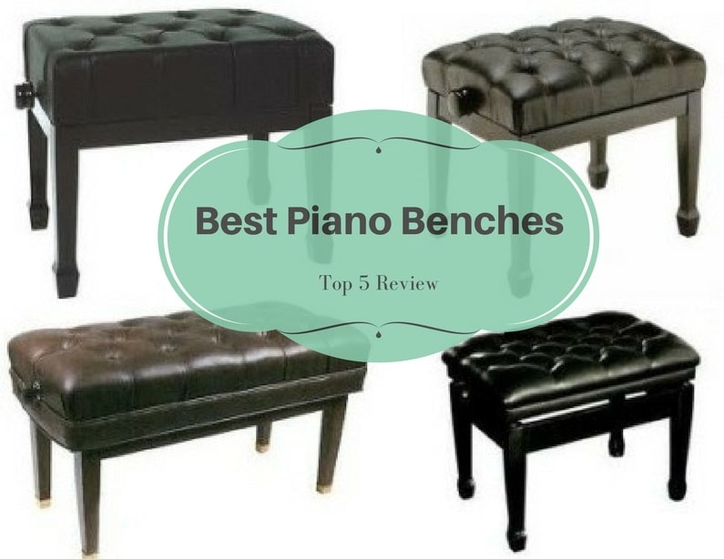 best piano benches top 5 piano bench reviews in 2017. Black Bedroom Furniture Sets. Home Design Ideas