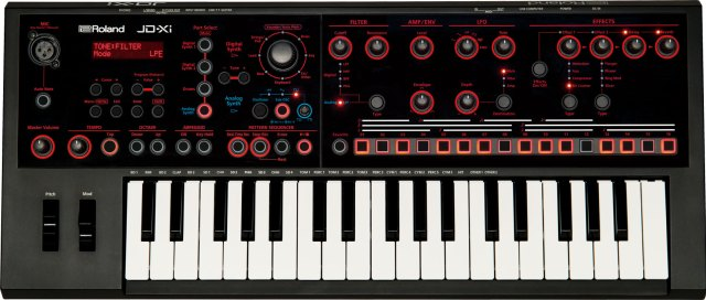 The tiny and economical Roland JD-XI includes a real analog synth engine besides the famed supernatural synth audio of Roland