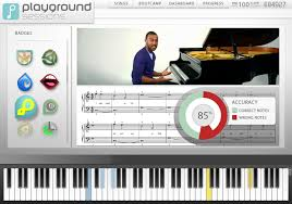playground session- piano learning software