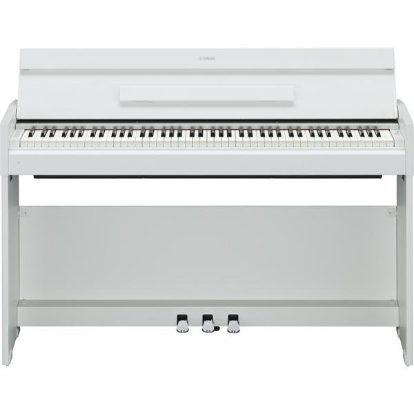 The Yamaha YDP-S52 in White Wood Finish