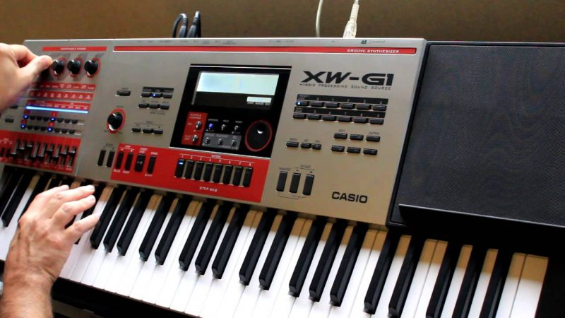 Casio XW- P1 synthesizer