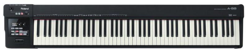 Roland A- 88 key MIDI keyboard controller