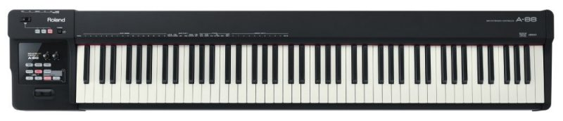 Roland A-88 keyboard controller