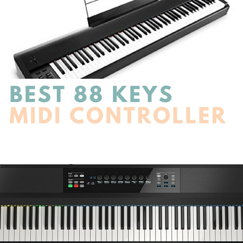 Best 88 key weighted midi controller top 5 review and picks for Yamaha p115 midi