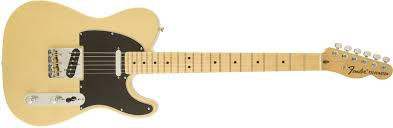 Fender American special vintage blonde guitar