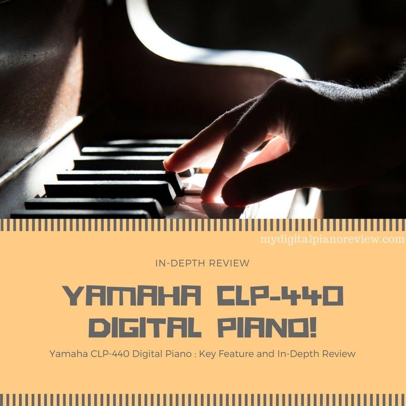 Yamaha CLP-440 Digital Piano