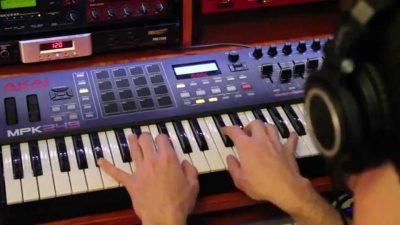 Akai MPK249 MIDI controller
