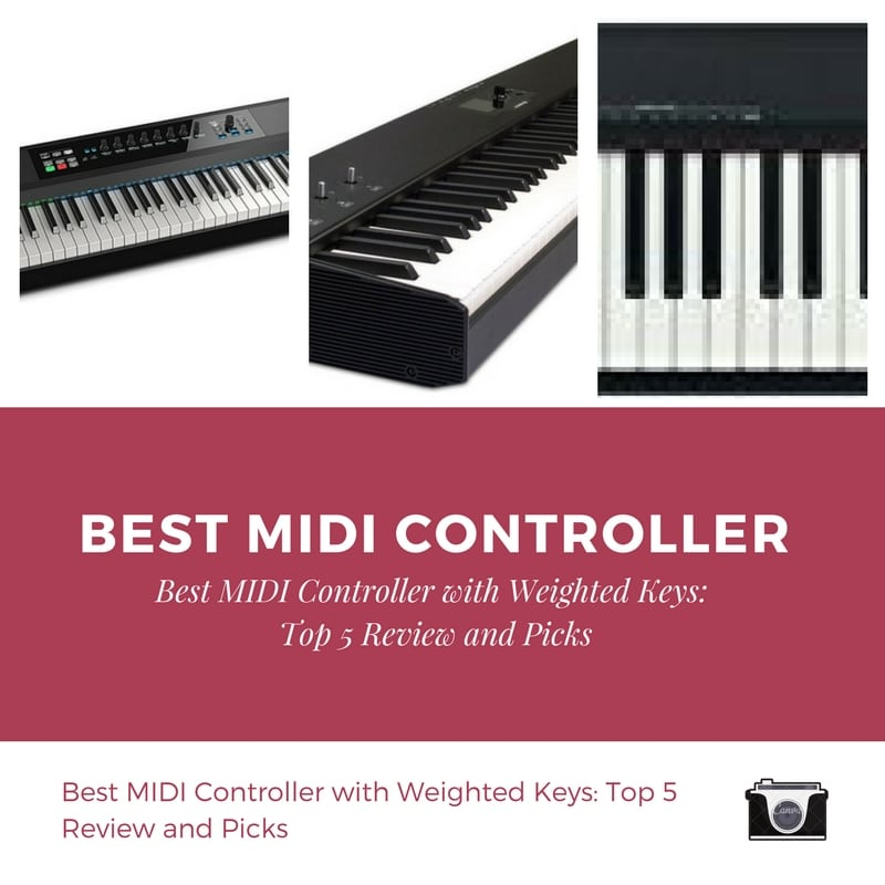 best midi controller with weighted keys top 5 review and picks. Black Bedroom Furniture Sets. Home Design Ideas