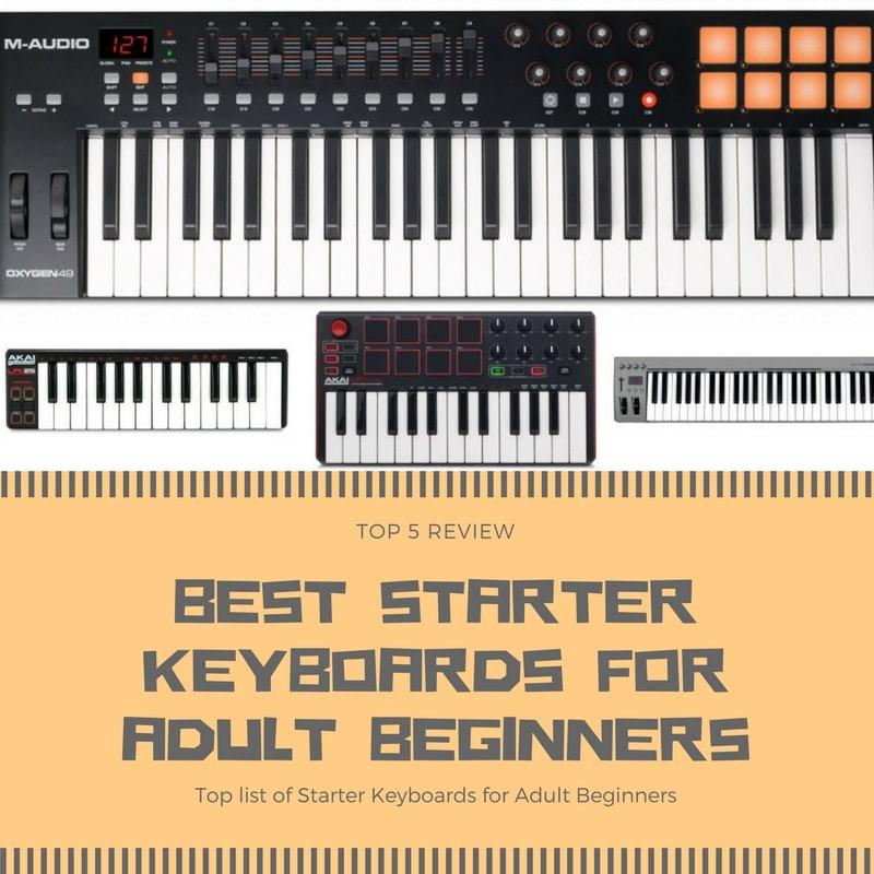 best starter keyboards for adult beginners top 5 review and picks. Black Bedroom Furniture Sets. Home Design Ideas