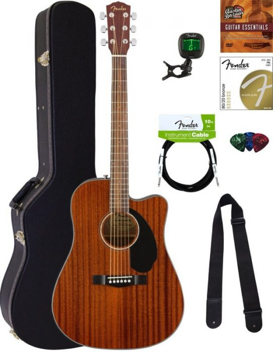 Fender CD – 60SCE acoustic guitar