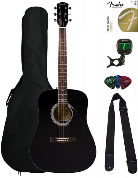 Fenders FA- 100 Dreadnought acoustic guitar