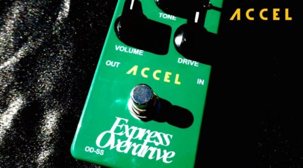 Overdrive effect pedal, Accel express OD