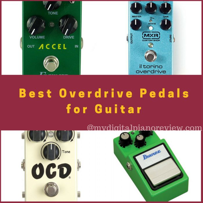 Best Overdrive Pedals for Guitar