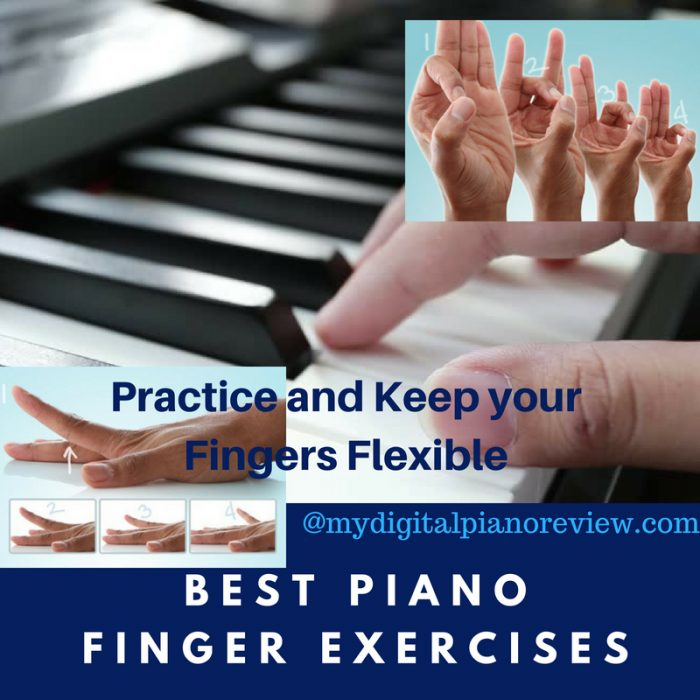 Best Piano Finger Exercises