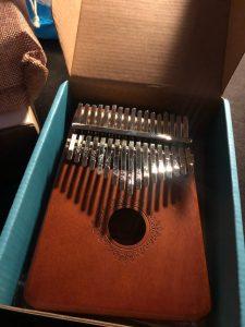 Kalimba Thumb Piano Premium 17 Key Mahogany Kalimba photo review